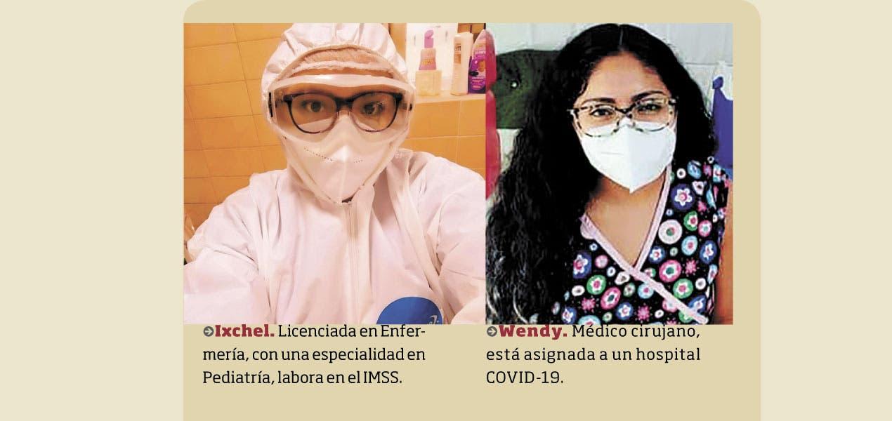 Libran Ixchel y Wendy batalla contra coronavirus en Morelos