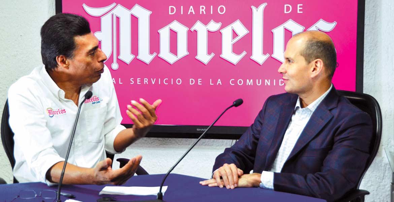 Entrevista. El diputado Jaime Álvarez Cisneros aseguró que por muchos años la clase política abandonó a los morelenses, por lo que es hora de promover un cambio a favor de mejoras para todos.
