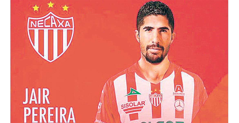Jair Pereira. El defensor central jugará con los Rayos del Necaxa.