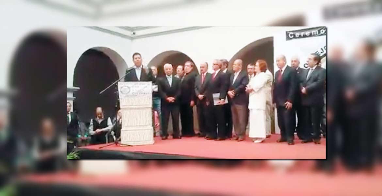 Felicita. El diputado Javier Bolaños destacó la participación de la ciudadanía en la conformación del Consejo Cívico Ciudadano, con Pablo Rubén Villalobos.