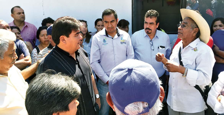 Acuerdo A partir del jueves, el alcalde encabezará visitas a las colonias afectadas para supervisar el abasto de agua mediante pipas o en su caso el buen funcionamiento del pozo.