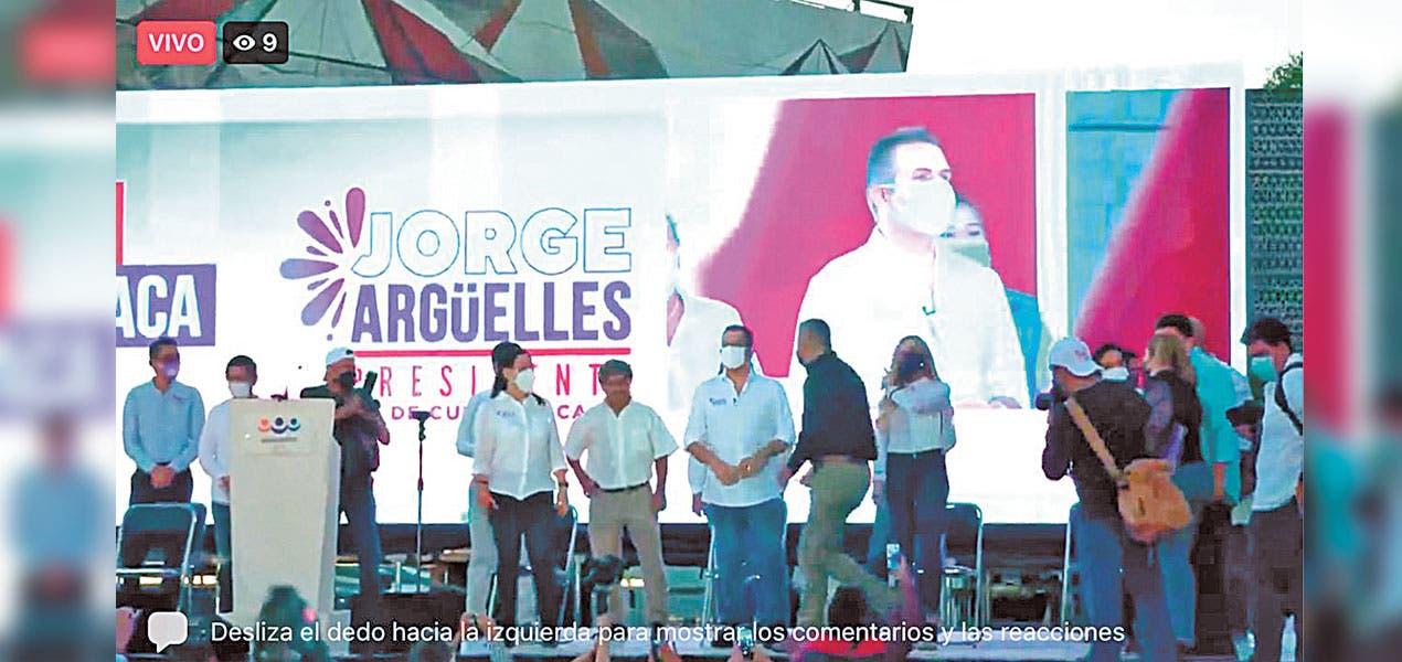 Arranca campaña Jorge Argüelles por la alcaldía de Cuernavaca