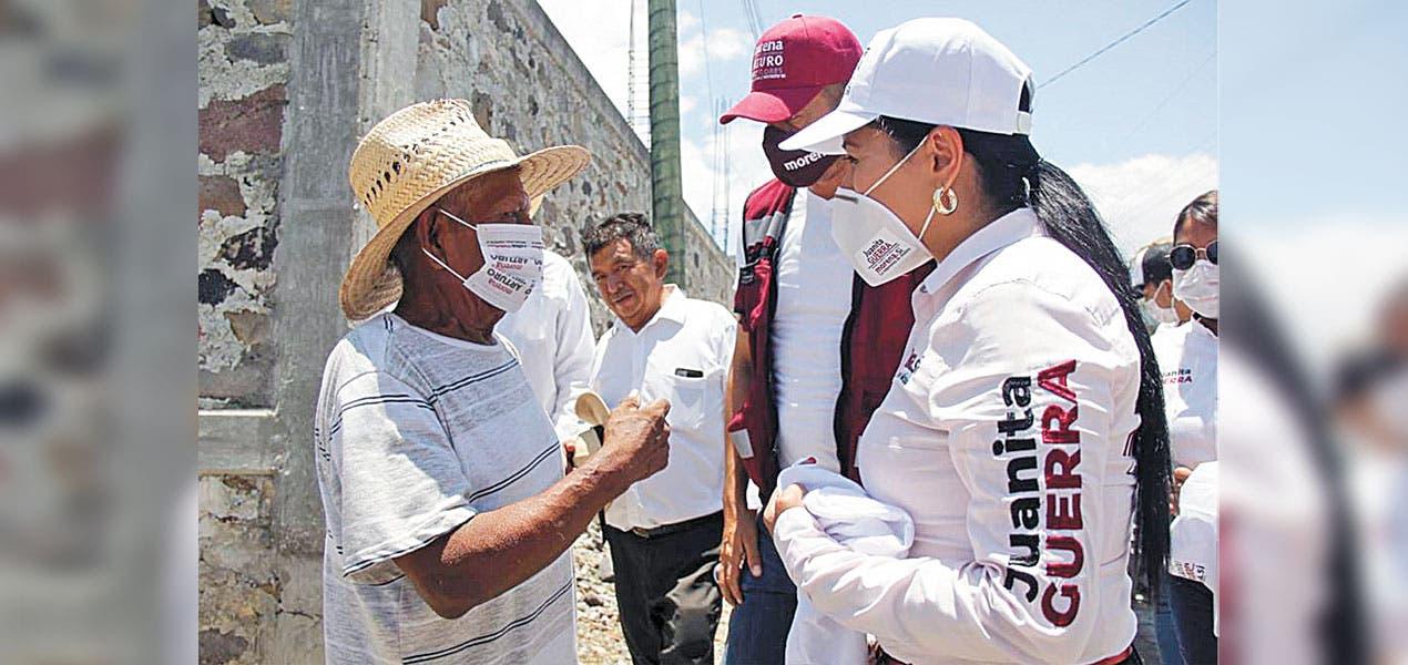 Juanita Guerra acude a Tepalcingo