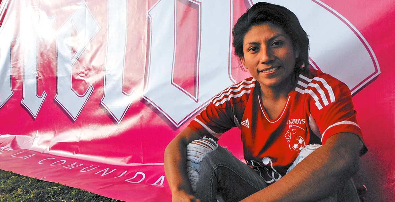 Karla Reyes. Jugadora Leonas Morelos.