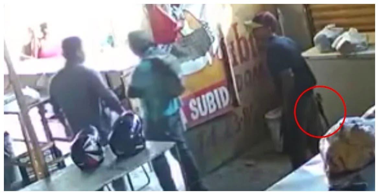 "Llegó a ""cobrar piso"" y empleado lo mató: VIDEO"