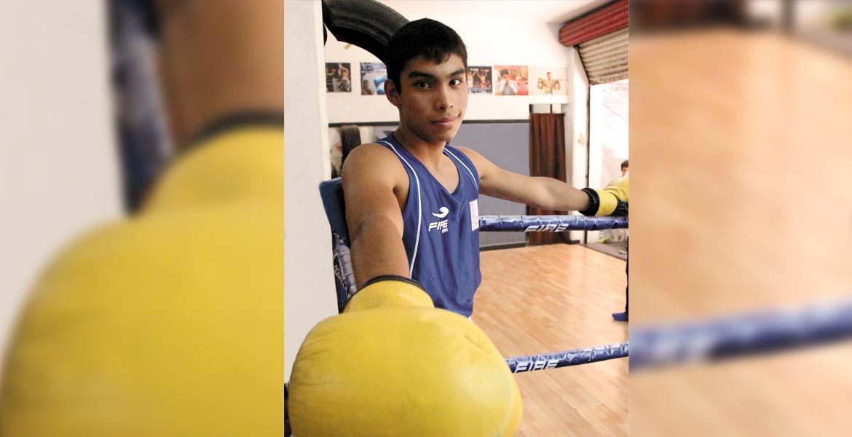 Medallista en Olimpiada Nacional 2015 y 2016, el boxeador Luis Alvarado tiene 15 años y sueña con ser profesional