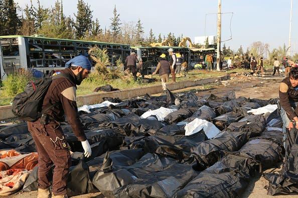 Se reanuda la evacuación de ciudades sitiadas en Siria