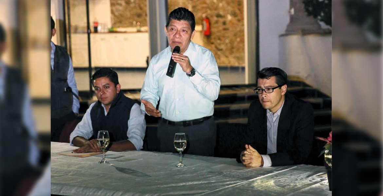 Disposición. Matías Quiroz Medina aseguró que la asunción de la seguridad se dio de forma inmediata y será de manera temporal.