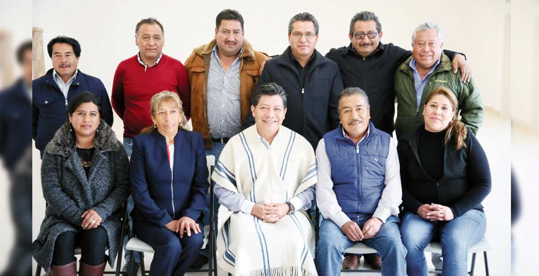 Reunión. Matías Quiroz sostuvo un encuentro con Antonio Cruz, alcalde de Huitzilac