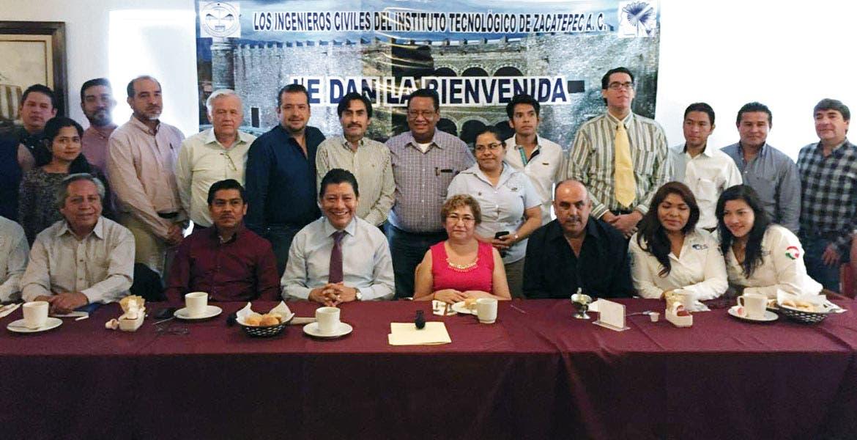 Cita. Ingenieros del Instituto Tecnológico de Zacatepec se reunieron con el secretario de Gobierno.