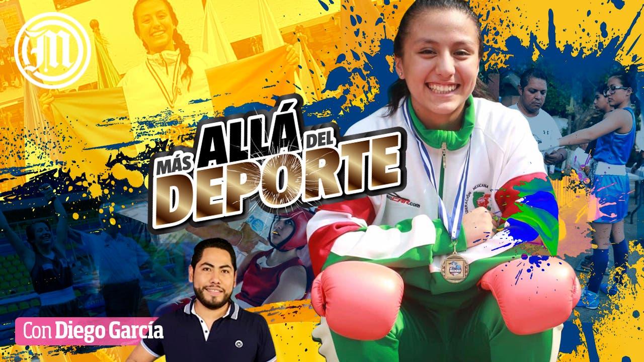 Ana Luisa Guerrero Revueltas dejó atrás  el atletismo y el futbol por incursionar en el boxeo