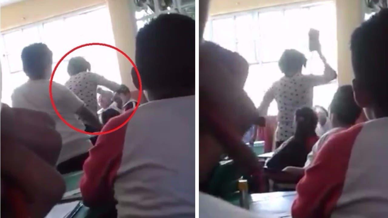 Suspenden a maestra por agresión contra alumno en primaria de Texcoco