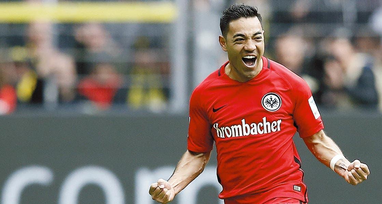 Marco Fabián. El jugador del Frankfurt dijo que la Selección quiere mostrar su nivel en la Copa Confederaciones.