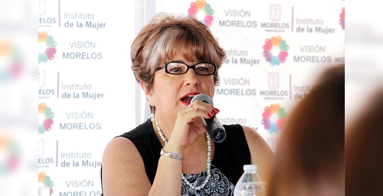 María Domínguez Rivera, titular del IMEM.