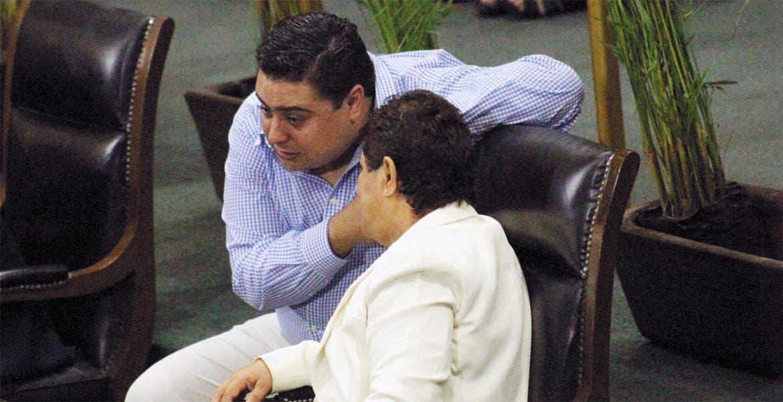 Plantea. Mario Chávez , del PRI, pide elevar a nivel constitucional figuras de participación ciudadana.