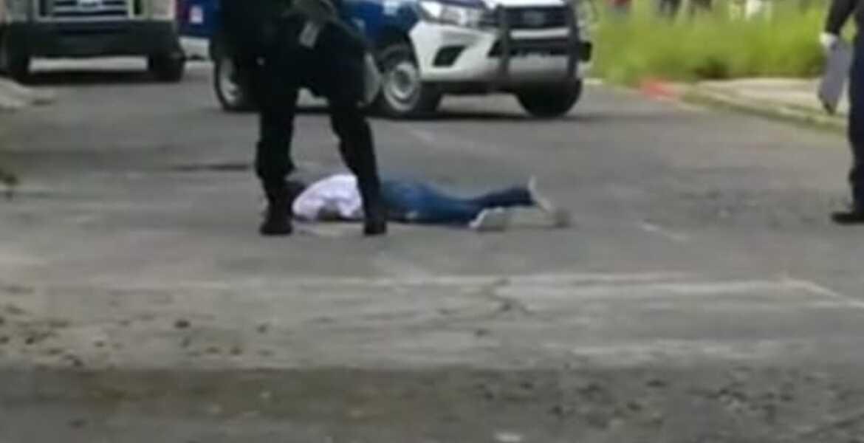 Matan a un sujeto de 6 balazos en Emiliano Zapata