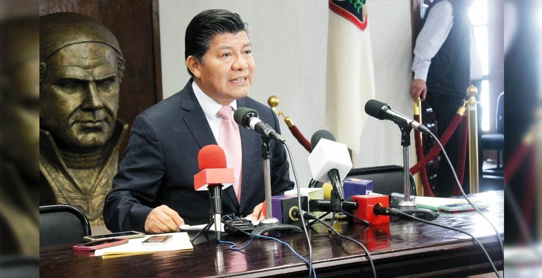Postura. El secretario de Gobierno, Matías Quiroz Medina, dijo que está en el Consejo Universitario la decisión de iniciar el diálogo con el Gobierno estatal.