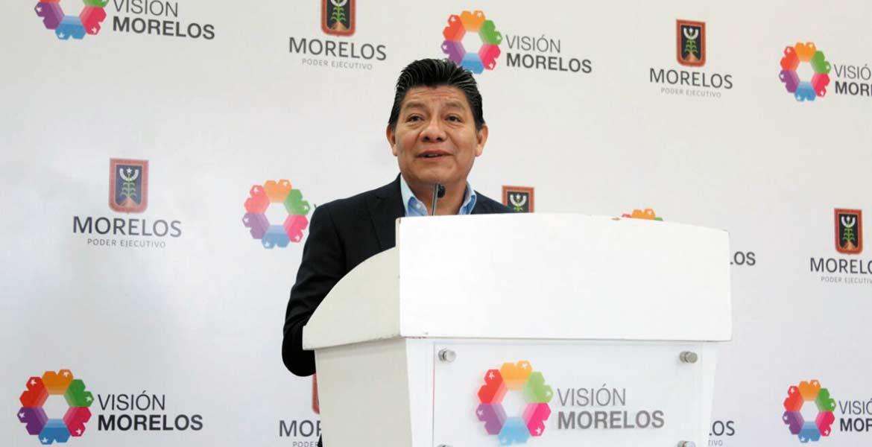 Rueda de prensa. Matías Quiroz Medina aseguró que la seguridad de la capital y de los otros municipios es prioridad para el Ejecutivo, por lo que el esquema de Mando Único continúa en Cuernavaca.