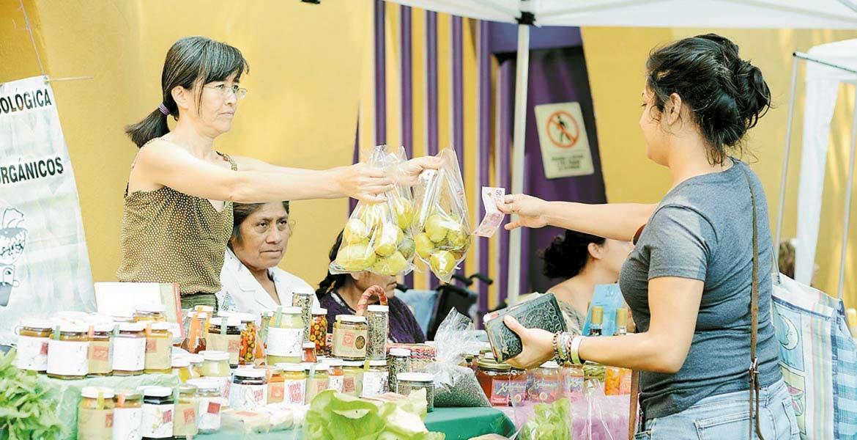 Natural. Con el paso de las semanas, el Mercado Verde se posiciona como uno de los mejores para fomentar la venta y consumo de productos locales.