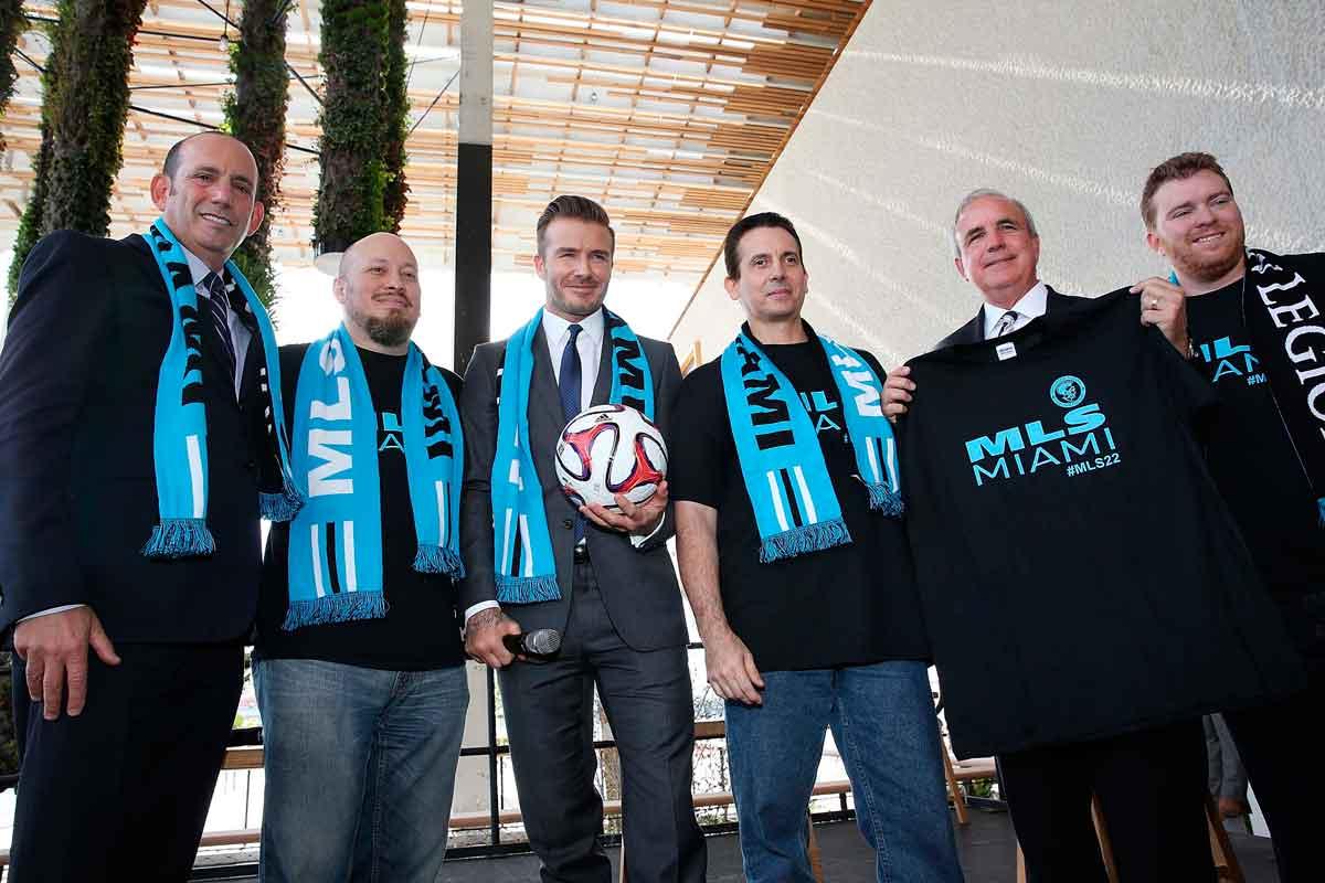 MLS da 'luz verde' a franquicia de David Beckham en Miami