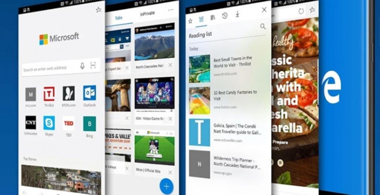 Microsoft Edge ya llegó a iOS y Android