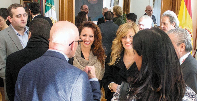 Actividades. La secretaria de Turismo, Mónica Reyes Fuchs, se reunió con Lourdes Berho Corona, directora del Consejo de Promoción Turística de México.