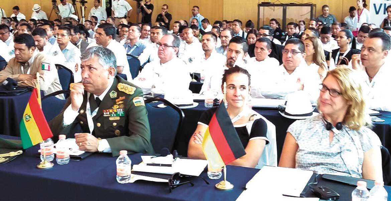 Actividades. Participantes de 23 países presentes durante las conferencias y ponencias realizadas.