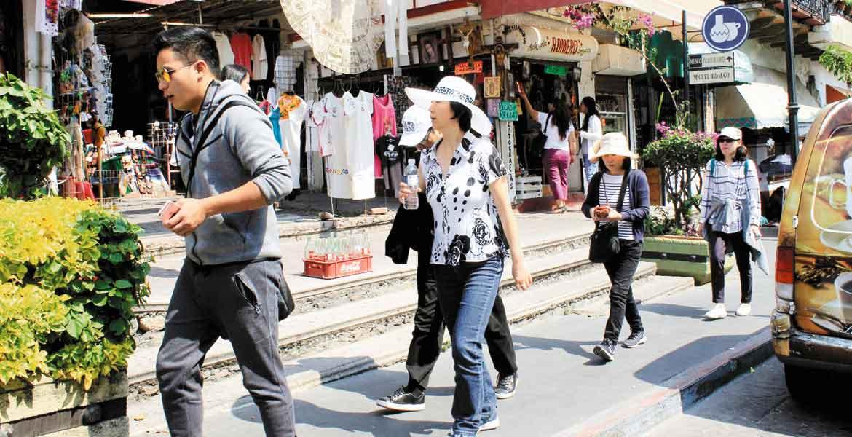 Puente. Visitantes nacionales y extranjeros trajeron buenas cifras al estado durante el pasado fin de semana.