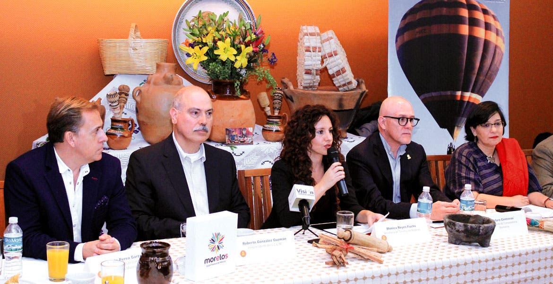 Informan. La secretaria de Turismo, Mónica Reyes Fuchs, anunció el primer evento de cocineras tradicionales de Morelos que se celebrará en Tepoztlán del 8 al 10 de abril.