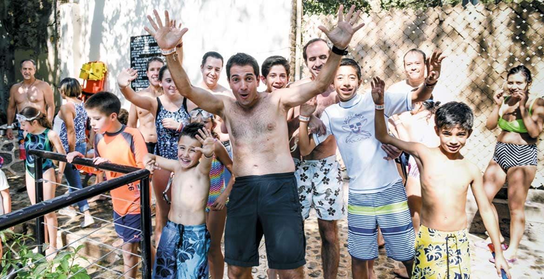 Diversión. Las familias disfrutan de los parques acuáticos de Morelos.