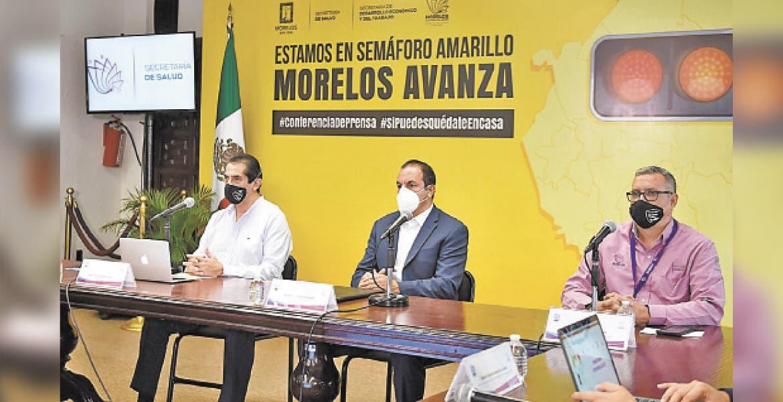 Llamó a no confiarse, que aún falta mucho... El gobernador aseguró que en Morelos vamos por buen camino, pero todavía falta mucho camino por recorrer