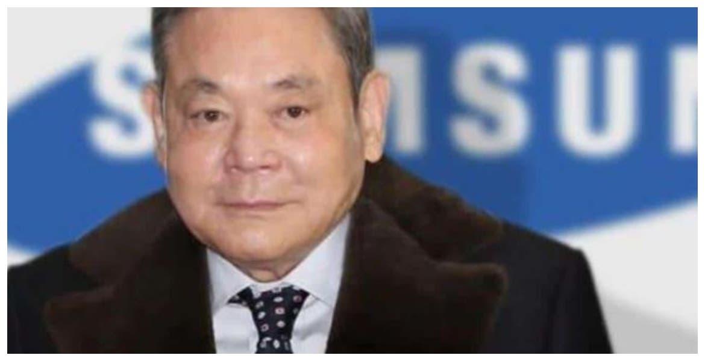 Muere el presidente de Samsung, el hombre más rico de Corea del Sur