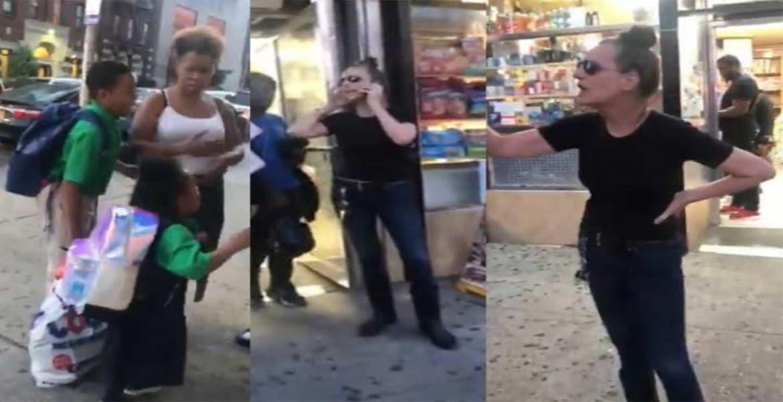 Mujer de 53 años denuncia a un niño por tocarla