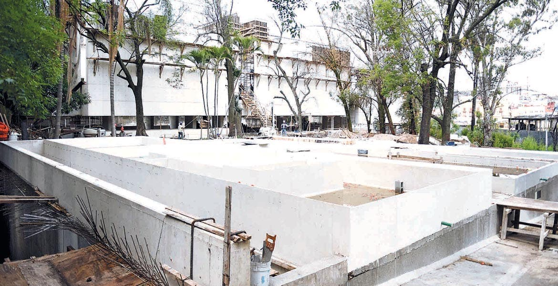 Obra. El proyecto del Museo Juan Soriano lleva un avance del 75 por ciento.