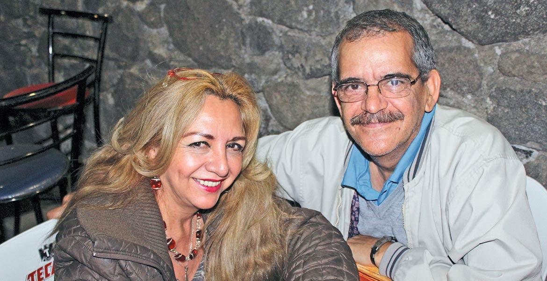 Ángeles Montano y Vicente Vivó