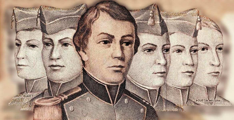 El recuerdo histórico a seis jóvenes cadetes que perdieron la vida en el combate con alto grado de heroismo y honor