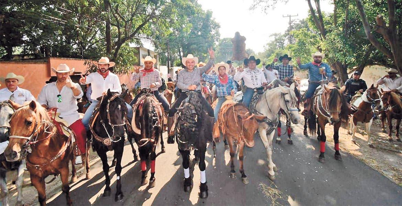 Un éxito la cabalgata de la amistad - Diario de Morelos