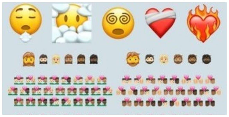 Nuevos emojis para WhatsApp llegarán en 2021