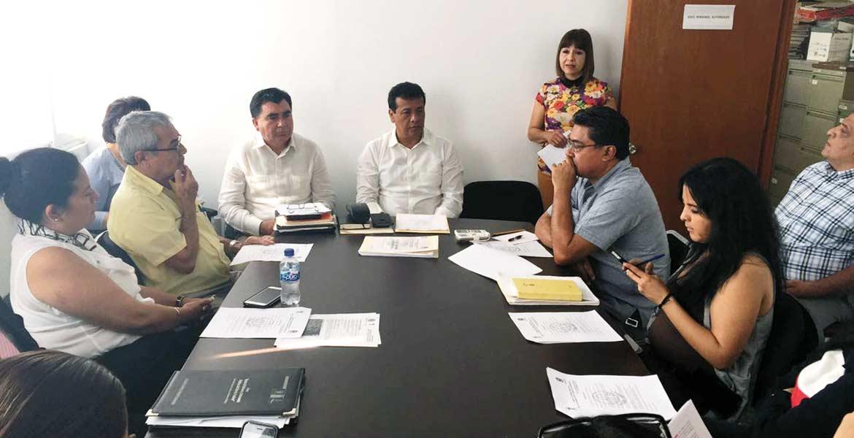 Sesión. El Comité de Obras Públicas del Ayuntamiento de Cuernavaca determinó las obras prioritarias para beneficiar a las colonias.