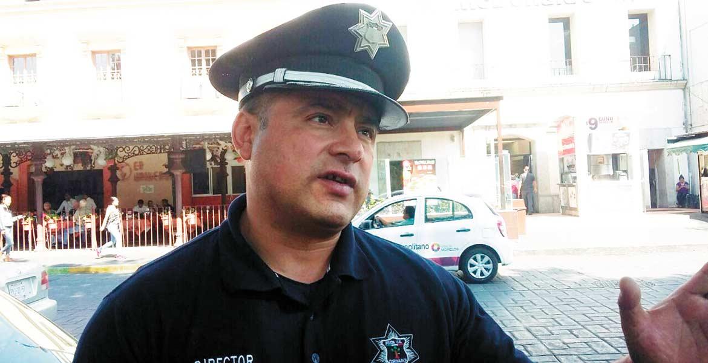 Orlando Guerrero Barona encargado de la Dir. de la Policía Vial de Cuernavaca.