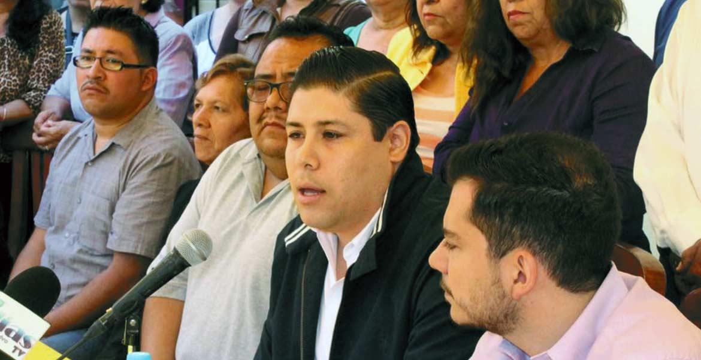 Invitación. Óscar Prado Alemán, dirigente municipa del PRD, pidió a Alejandro Vera sacar las manos del caso Cuauhtémoc Blanco.
