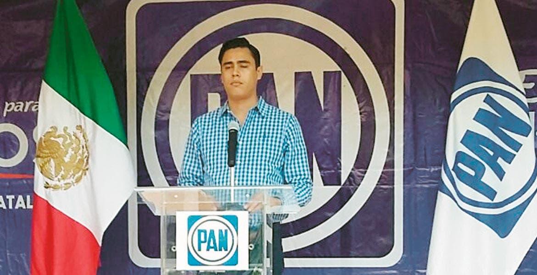 Postura. Juan Carlos Martínez, presidente del CDE del PAN, dijo que no apoyará acciones subversivas.