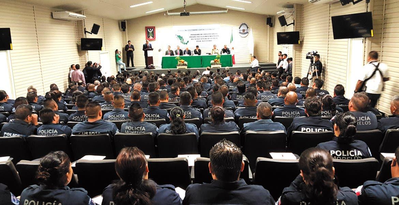 Capacitación. Policías estatales y federales recibieron un curso en justicia adversarial.