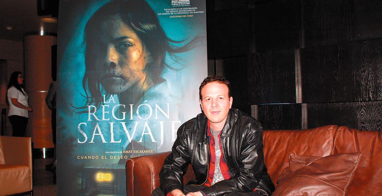 Entrevista con el director de cine Amat Escalante Encuentros /Jan 24 2018