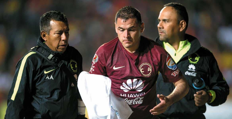 A descansar. El sudamericano no podrá jugar durante diez encuentros.