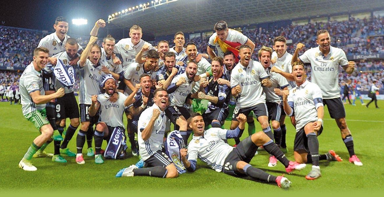 La fiesta del Real Madrid tras su título de liga no para