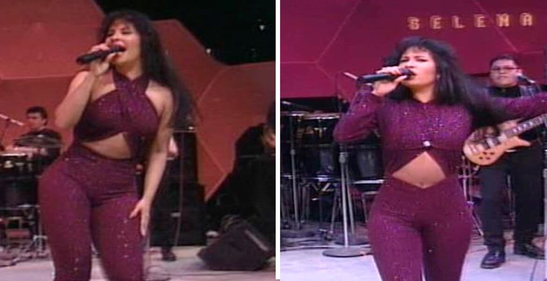 Recuerdan a Selena mostrando video inédito y su habilidad para bailar