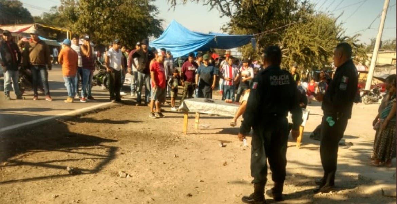 Registran balacera en tianguis de Xoxocotla; hay un herido