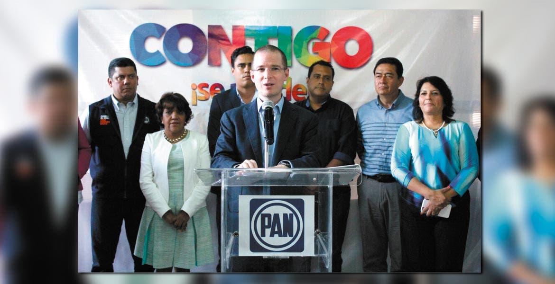Motivados. Ricardo Anaya, presidente nacional del PAN, dijo que los triunfos electorales de junio pasadoson un aiciente para seguir trabajando a favor de los ciudadanos.