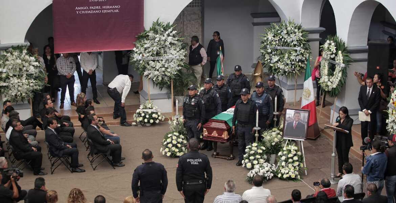 Rinden homenaje a Juan David Juárez López, encargado de despacho de Seguridad Pública